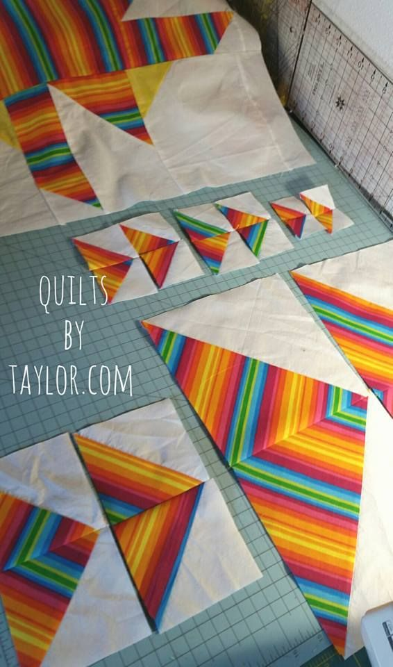 Handmade Quilts, Custom Made Quilts, Rainbow Star Quilt | Quilts ... : custom made quilts with pictures - Adamdwight.com