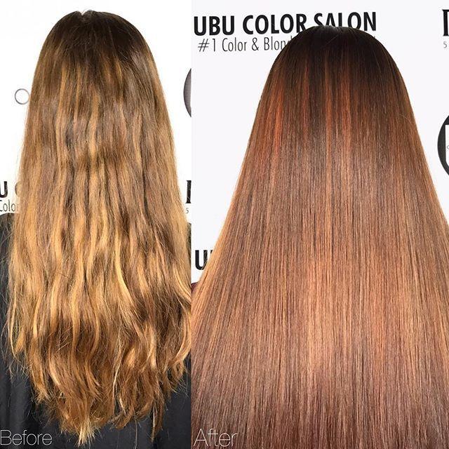 Beautiful Auburn Red before and after by @cpowell1980 ✨🍁🍂 Call the salon to book a free consultation to achieve this look. 📞813.801.9700  using @olaplex @redken5thave @magiclightener @redkenofficial @mineralsofeden.official  #mermaidians #fallhair  #fallhaircolor #women #balayage #ombrehair #hair #haircut #longhair #olaplex #olaplexlove #hairdye #salon  #tampahair #blondehairblueeyes #blonde #blondegirl #haircolor #hairofinstagram #haironfleek #hairideas #perfectcurls #curlyhair #curls…
