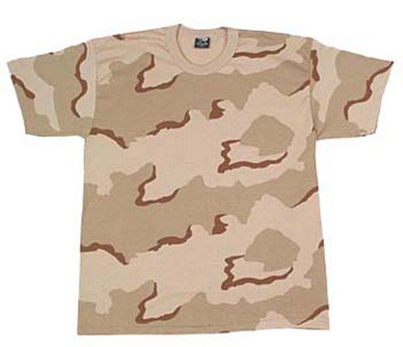 49ce73e357cd8 Desert camo t-shirt $8.17 Poly/cotton blend #Military #Camouflage http: