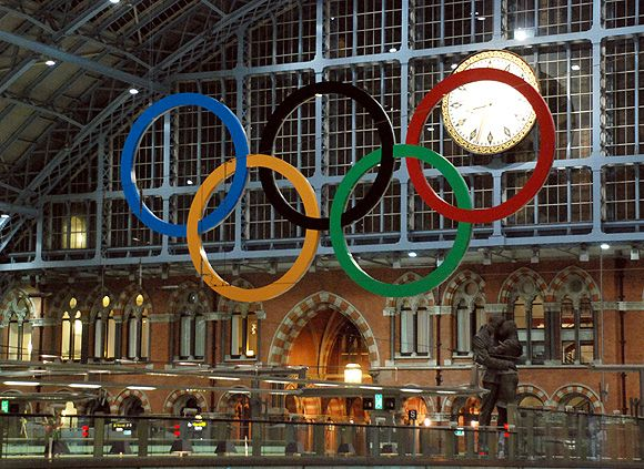 The 2012 London Olympics are getting close. I will be pinning Olympic stuff like crazy. Olympic Rings FTW