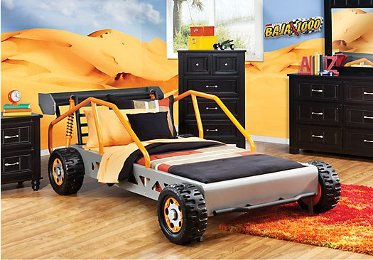 Shop for a Dune Buggy Twin Bed at Rooms To Go Kids. Find ...