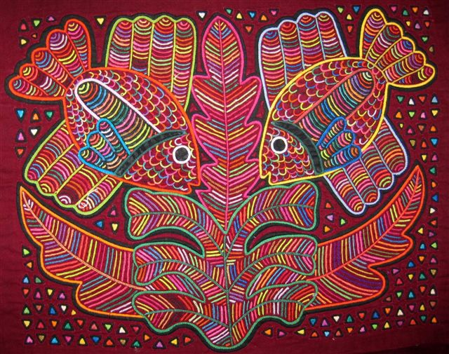 Molas From Molagirl Places Latin America Textile Art