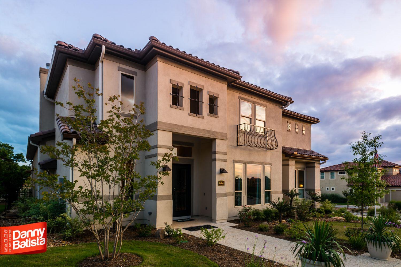 McNair Custom Home In The Dominion Large Open Windows Ceramic - Dominion ceramic tile