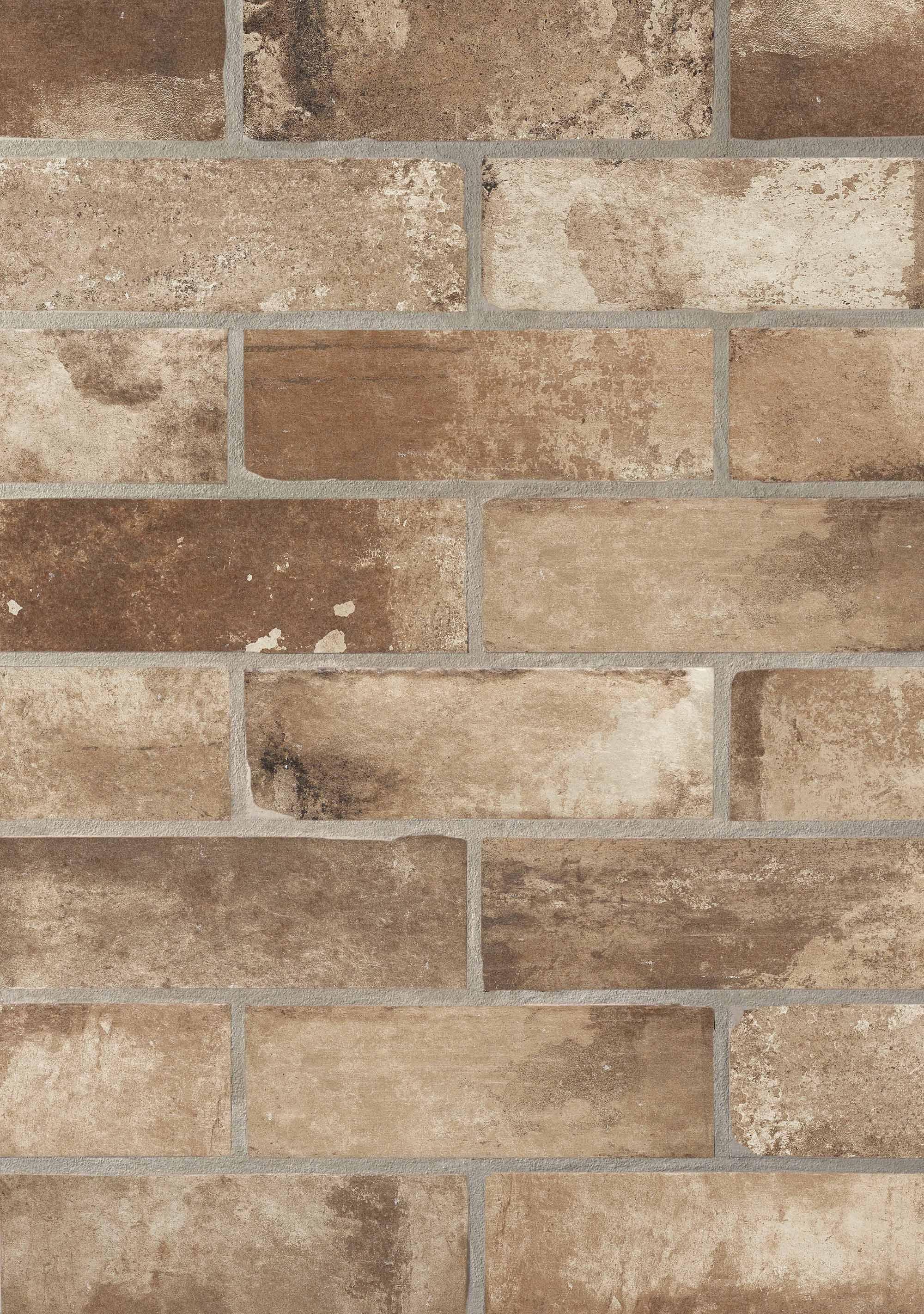 Rivestimento in gres effetto muretto del conca cantina e murales nel 2019 tiles brick e - Piastrelle effetto mattone ...