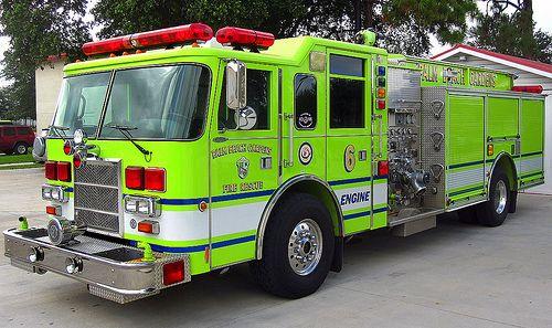 Palm Beach Gardens Fire Engine Fire Trucks That Are Not Red Pinterest Fire Engine Engine