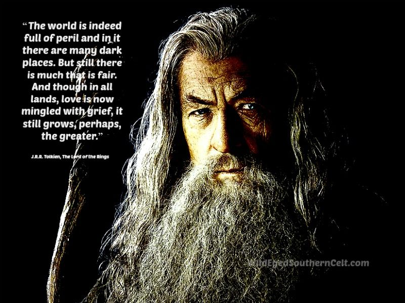 Words Of Hope From Tolkien Via Gandalf Tolkien Quotes Words Of Hope The Hobbit