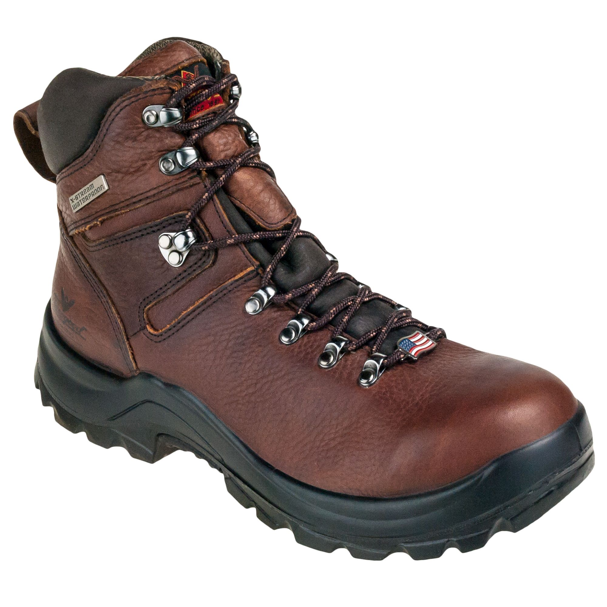118e72901a7 Thorogood Boots USA-Made 814-3266 Men's Waterproof EH Brown Omni 6 ...