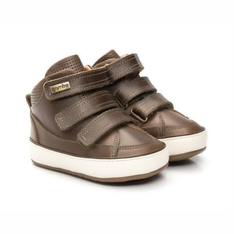 Tênis de Bebê Sneaker Chocolate- Gambo