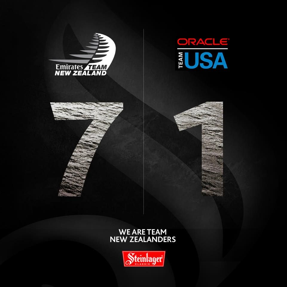 A nation thanks you for winning the 35th America's Cup