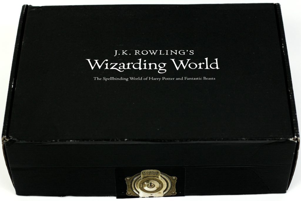 January 2017 J.K. Rowling's Wizarding World Crate Review