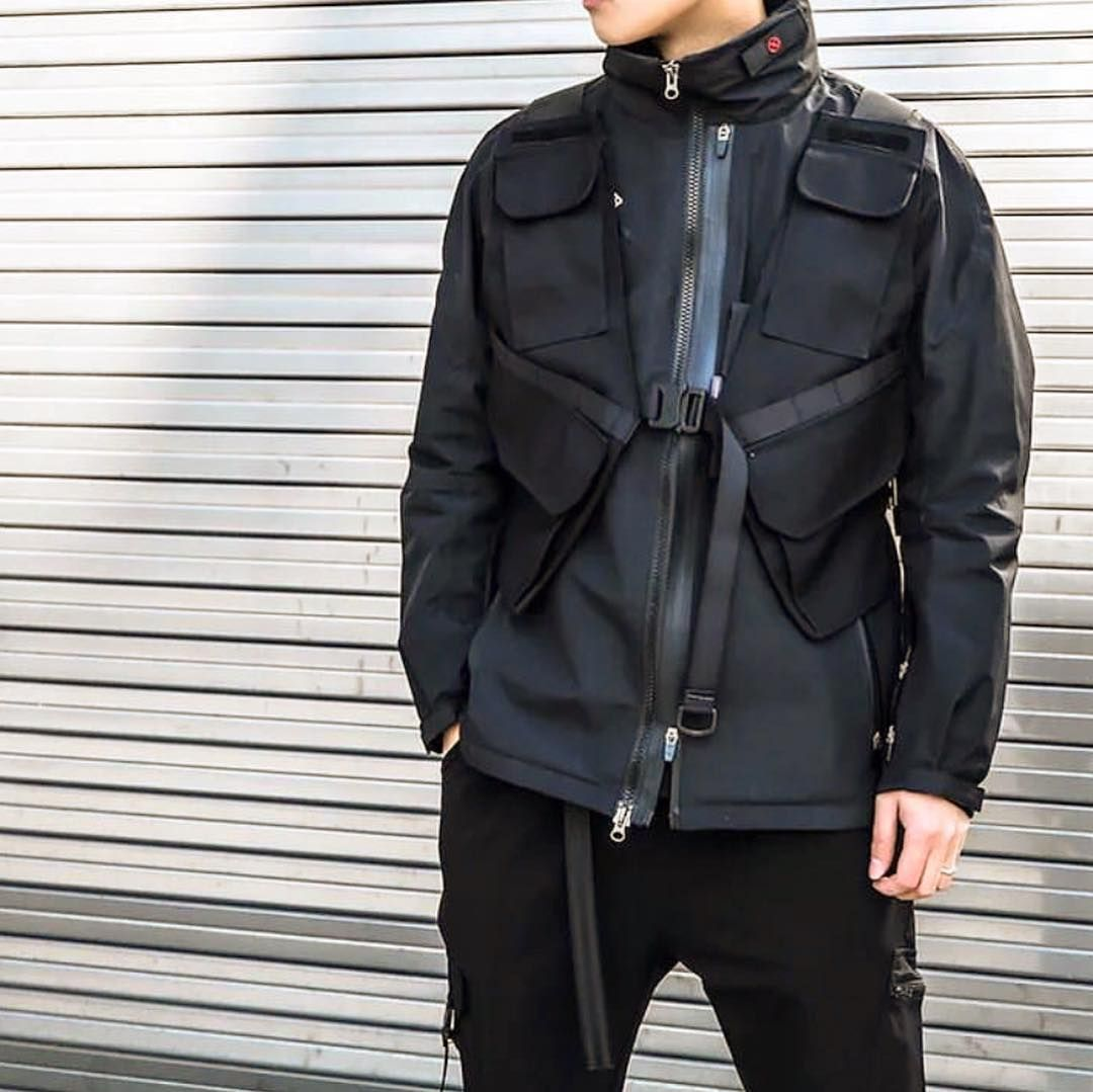 new concept a4e3b 33408 Brand New  Tech Tactical Vest  now available on our store. Link in bio ‼  YAY OR NAY  ⁉  techwear
