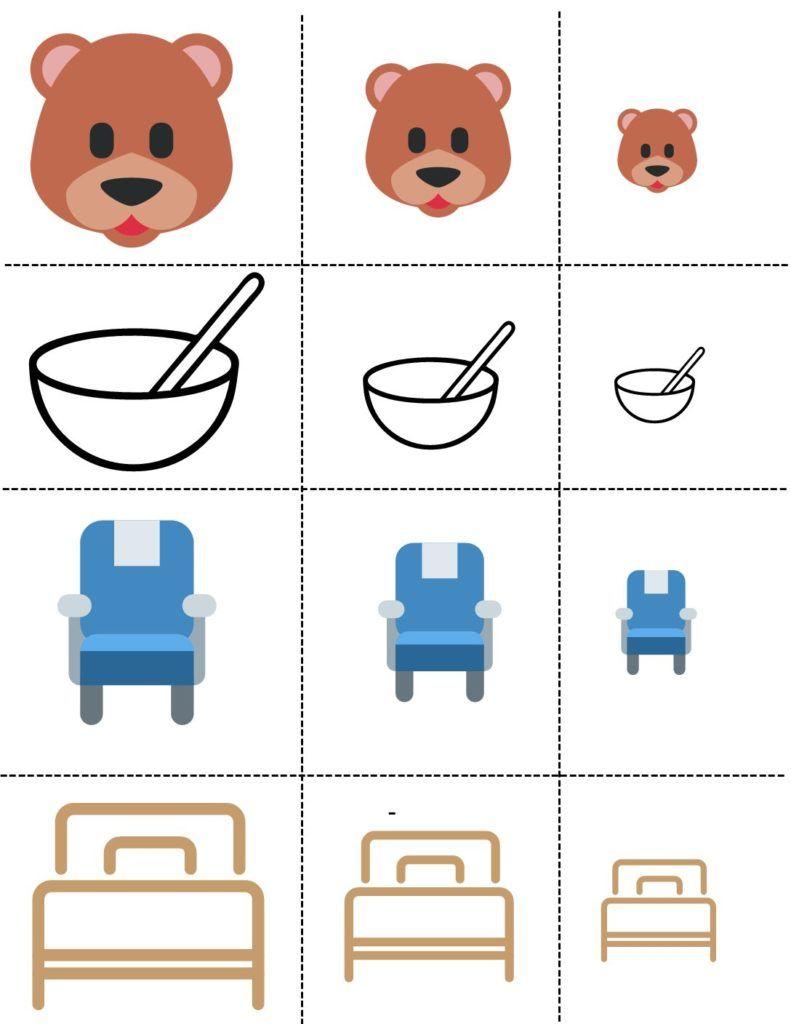 Goldilocks The Three Bears Preschool Activities Toddler Bears Preschool Bear Activities Preschool [ 1024 x 791 Pixel ]