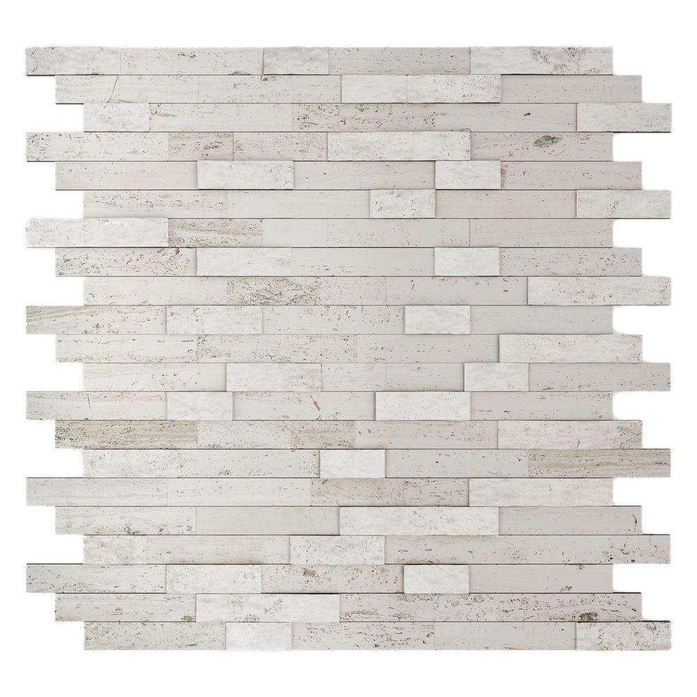 inoxia speedtiles himalayan 11 75 in x 11 6 in stone adhesive inoxia speedtiles himalayan 11 75 in x 11 6 in stone adhesive wall tile backsplash in