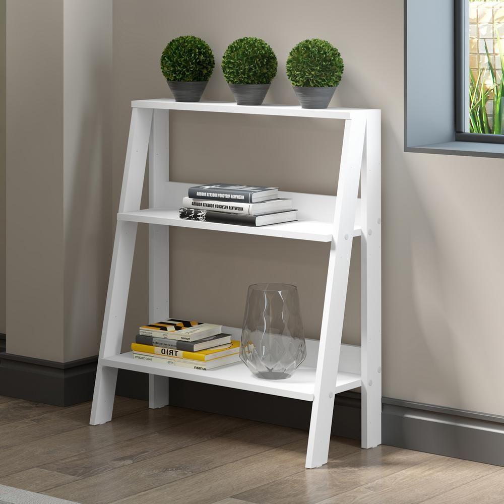 in wood ladder bookshelf white ladder bookshelf wood ladder