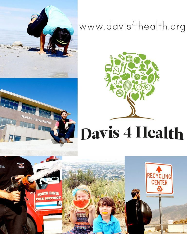 Davis County Has A New Website That Houses Local Health Resources For Community Members Www Davis4health Or Health Department Green Solutions Health Resources