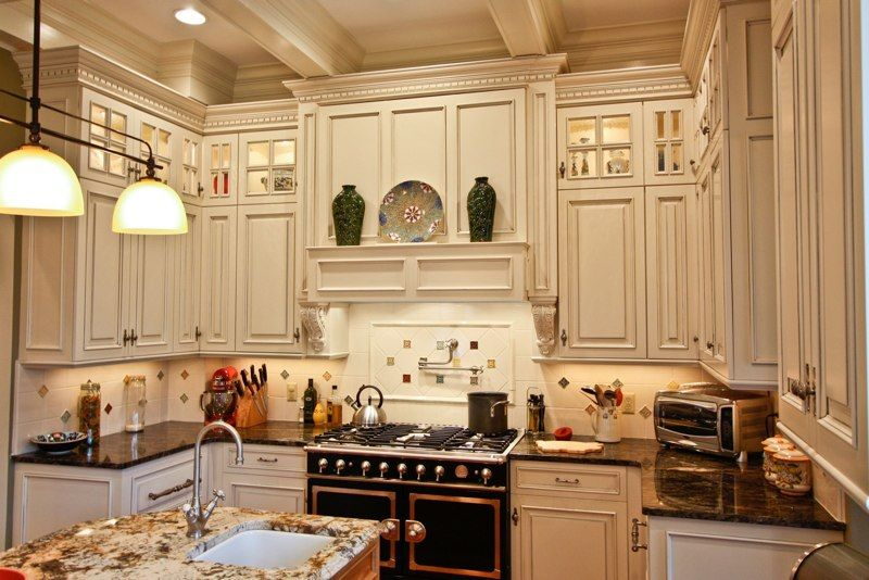 Kitchen With Wood Beam Ceilings | Wood beam ceilings, Beam ...