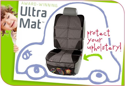 Diono Ultra Mat For Ultra Protection Ultra Mat Protects Your Car Upholstery Against Scratches And Dents From Rear Diono Best Car Seats Forward Facing Car Seat