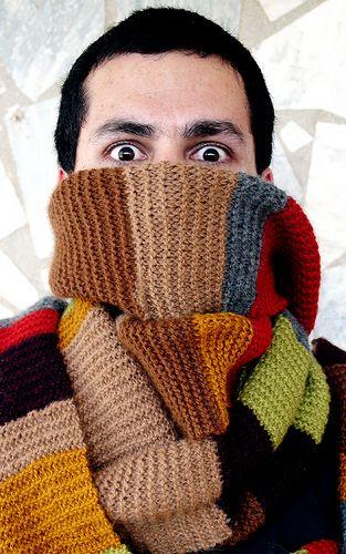 Doctor Who scarf pattern   crochet   Pinterest   Tejido, Chaquetas ...