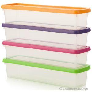 Long Thin Plastic Storage Boxes