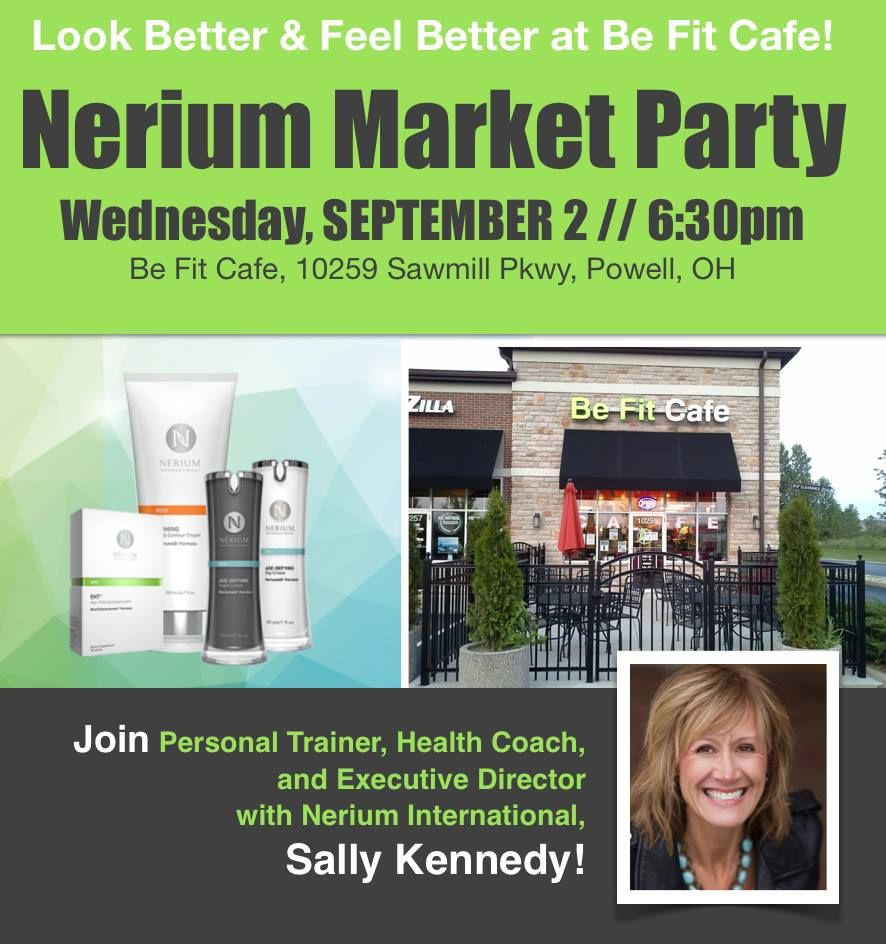 Come out and learn about Nerium!