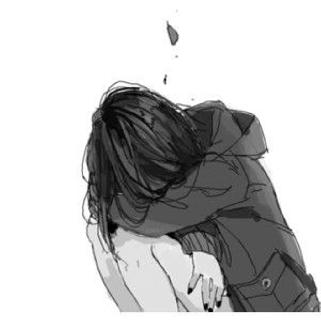 Resultado de imagen de anime girl sad