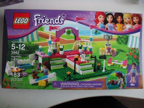 New Lego Friends Set 3942 Heartlake Dog Show Puppy Trophy