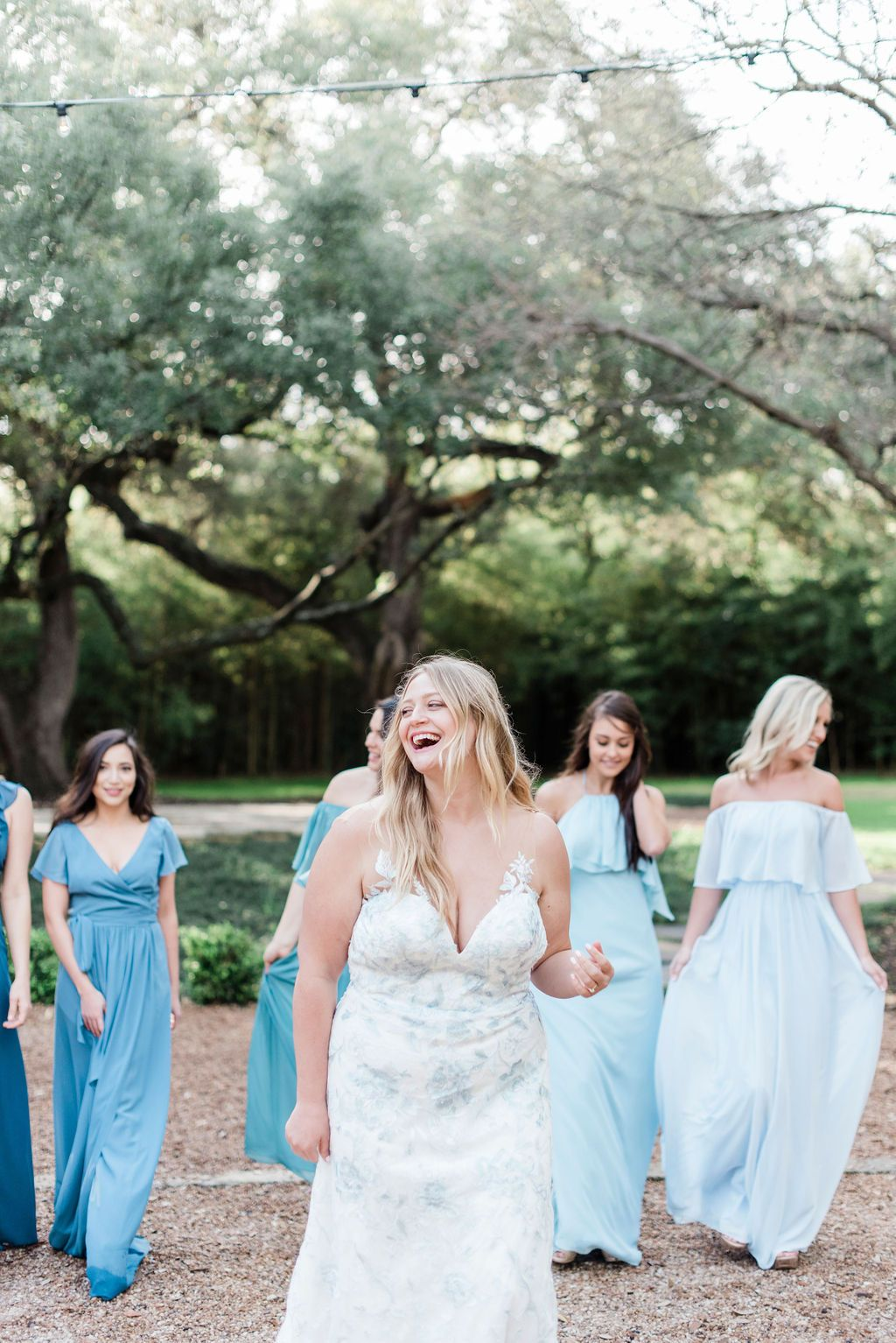 The Luna Bridal Gown Has That Little Something Blue Every Bride Is