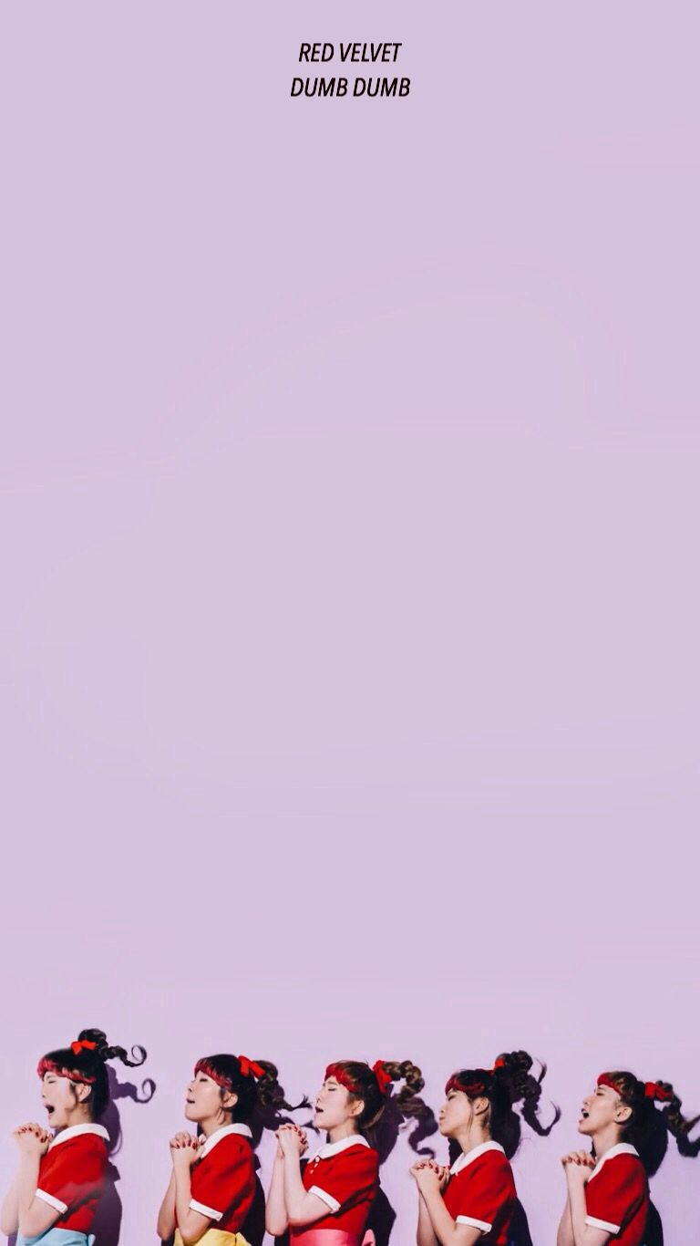 Red Velvet Dumb Dumb Wallpaper Terciopelo Rojo Fondos De