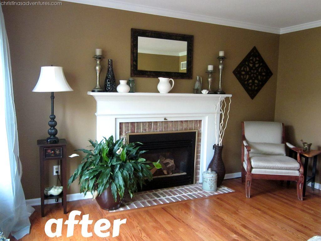 living room make over tan white blue paint colors on paint colors for living room id=12195