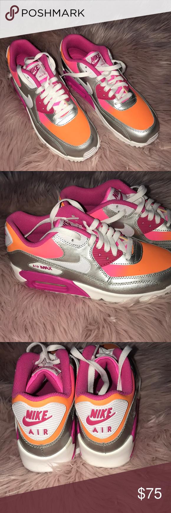 Pensamiento Posesión En marcha  Brand new Nike Air MAX Neon pink/neon orange/silver metallic ...