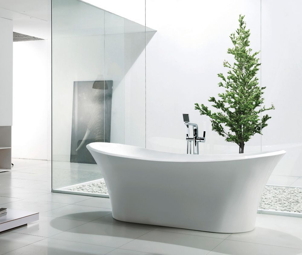 HOME DEPOT - Leslie 5 Feet 9-Inch   Bathroom - Client   Pinterest