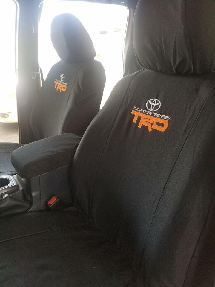 Awesome Awesome Toyota Tacoma 2000 2017 Custom Seat Covers Full Set Front And Back Seat 2017 20 Toyota Tacoma Seat Covers Custom Seat Covers Tacoma Seat Covers