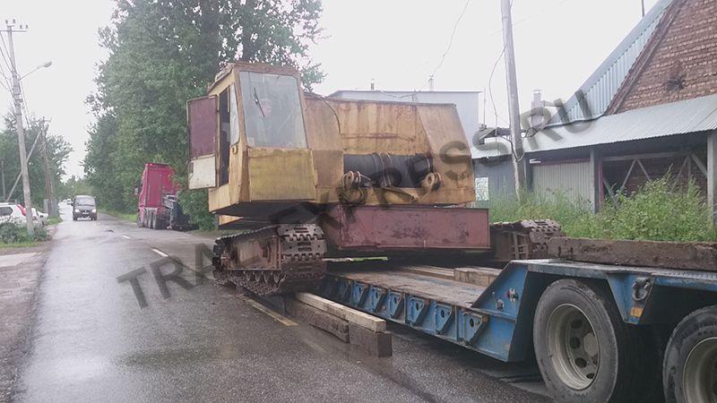 Перевозка негабаритного крана РДК 250 Перевозка негабаритных