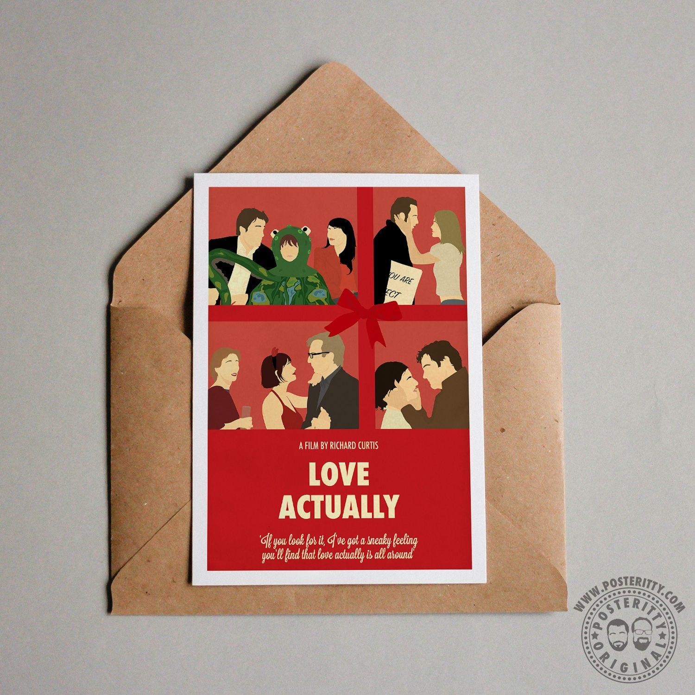 MULTI CHRISTMAS MOVIES Minimalist Movie Poster Minimal Xmas Print Posteritty Art