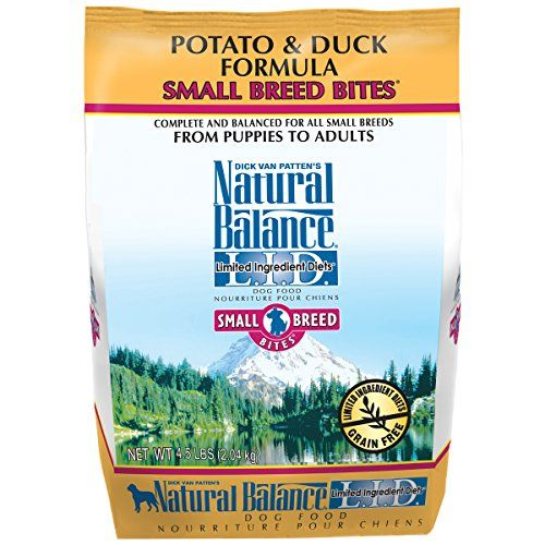 Natural Balance Small Breed Bites L.I.D. Limited Ingredient Diets Potato & Duck Formula Dry Dog Food, 4.5-Pound ** Continue to the product at the image link.