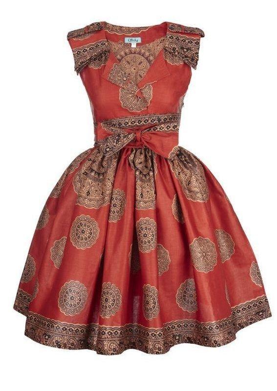 The Best Kitenge Dress Designs For Women 2017 African Fashion African Fashion Dresses African Print Dresses