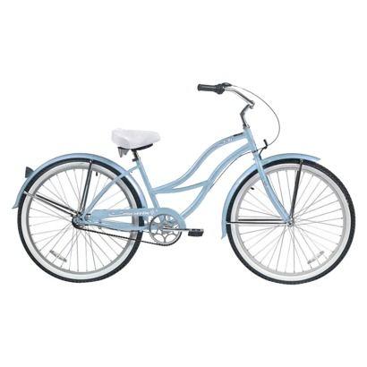 "Micargi Tahiti NX3 26"" Classic 3 Speed Beach Cruiser - Baby Blue"