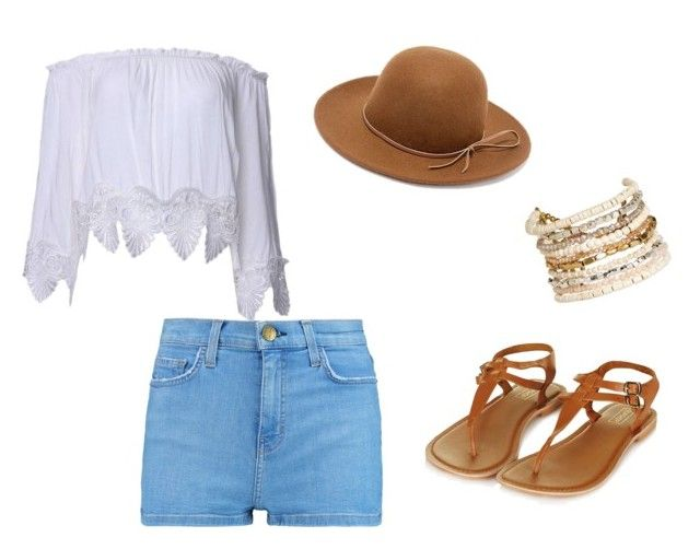 """""""Untitled #61"""" by valerialoman on Polyvore featuring Current/Elliott, RHYTHM and Panacea"""
