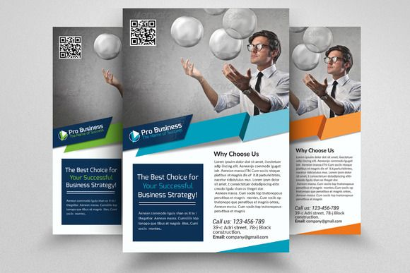 Business Corporate Flyer Template Creativework247 Flyer Templates