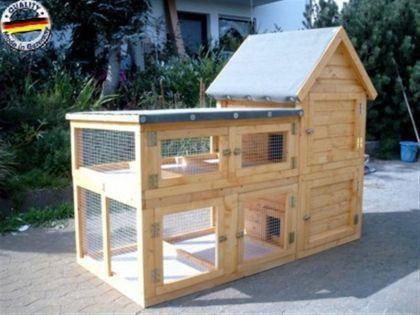 hasenstall kaninchenstall dandilein tiere kaninchen. Black Bedroom Furniture Sets. Home Design Ideas