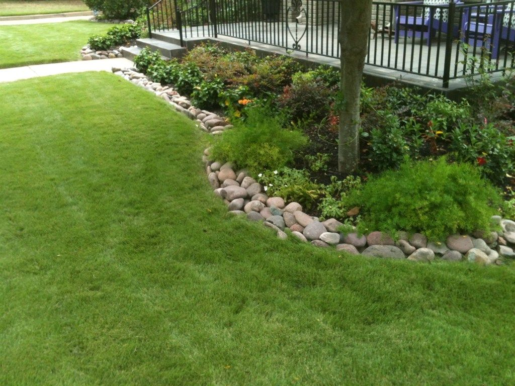 best 25 river rock gardens ideas on pinterest garden ideas