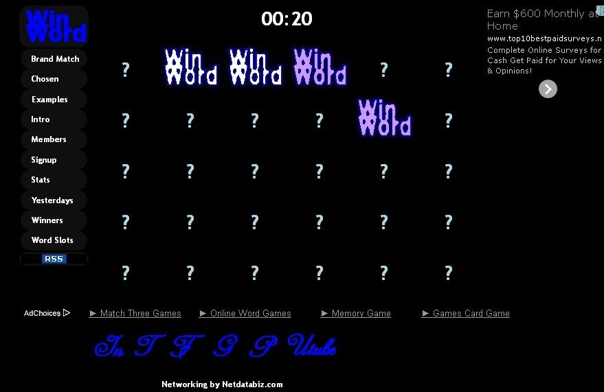 New Brand Match game on http://win-word.com/brandmatch.php