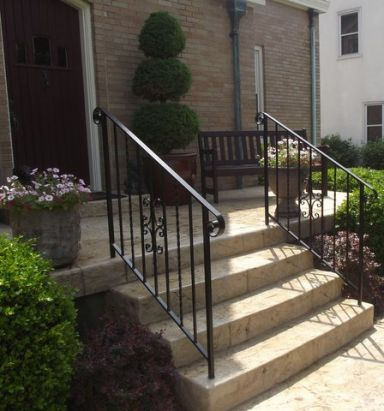 Best This Iron Stair Railing Looks So Nice My Husband And I 400 x 300