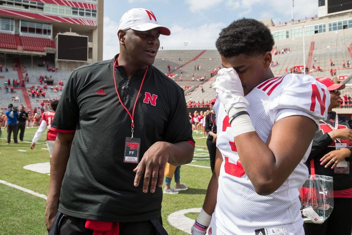Keyshawn Johnson pulls son out of Nebraska Nebraska