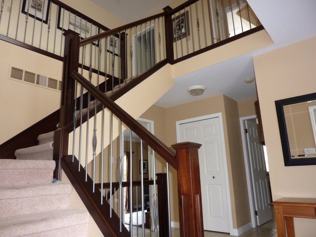Best Wooden Modern Stair Railings Various Materials For 400 x 300
