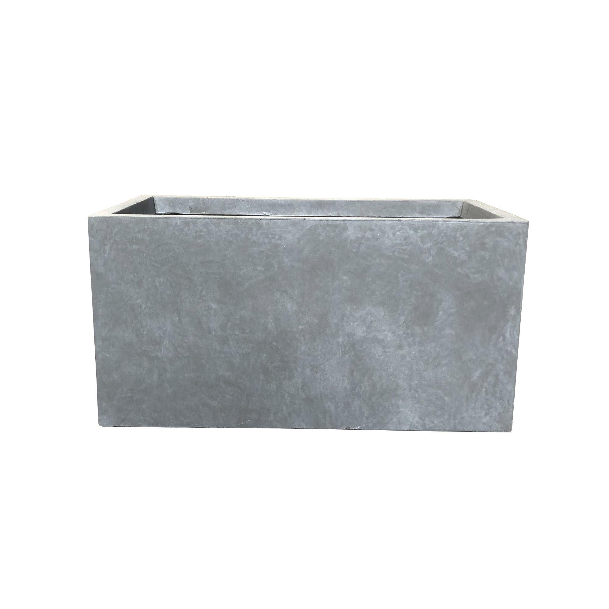 Durx Litecrete Lightweight Concrete Modern Long Cement Color Low Planter Large 31 1 X14 6 X14 8 Concrete Planter Boxes Outdoor Planters Rectangle Planters
