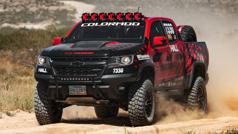 Mostly Stock Chevy Colorado Zr2 Will Do Vegas To Reno With Hall Racing Chevy Colorado Chevrolet Colorado Chevy