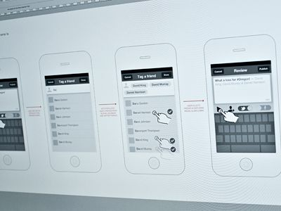 Inspiring UI Wireframe Sketches   Wireframe  Mobile app and App  ui