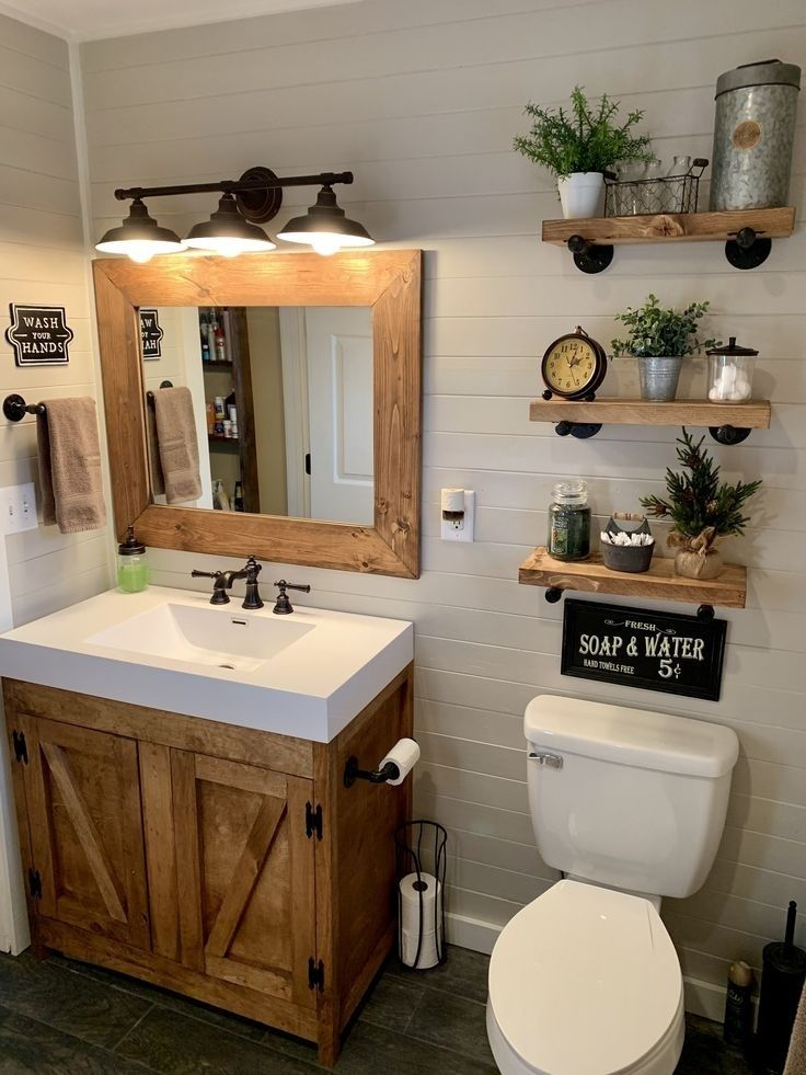 Fashion Look Featuring Pottery Barn Bathroom and 17 Stories Lighting by Briannamd44 - ShopStyle