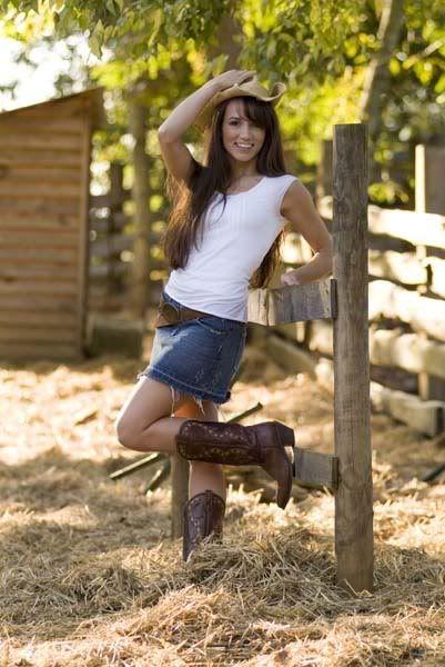 Jean,Denim Mini Skirt & Cowgirl Boots, | Fashion | Pinterest | The ...